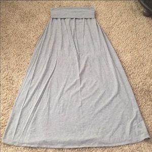 Splendid fold over maxi skirt. Size small.